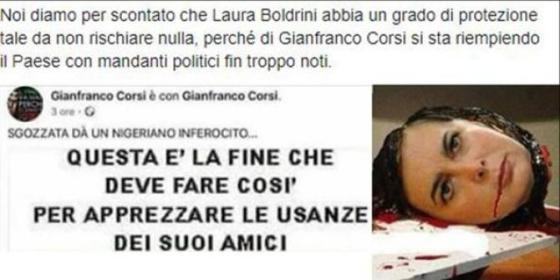 insulti alla Boldrini