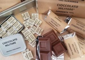 cioccolato militare