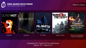 Free Games with Prime Amazon Twitch