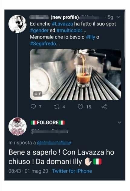 Nuovo spot Lavazza