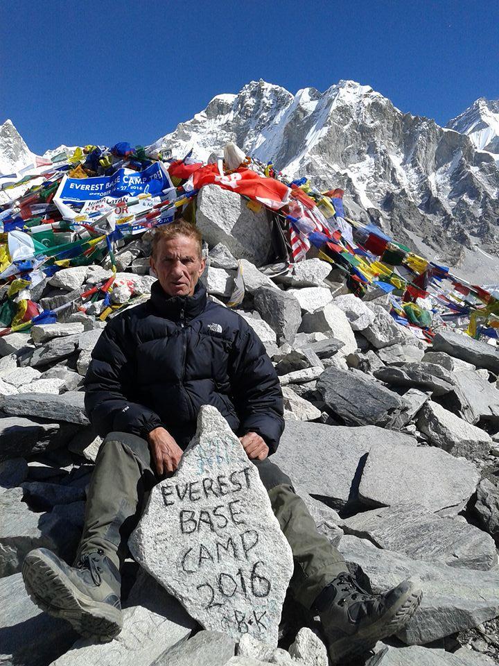 Franco Della Ducata e la sua esperienza sul campo base dell'Everest