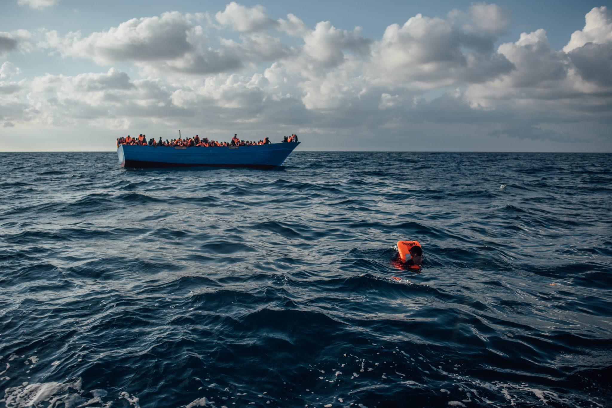 45 migranti morti