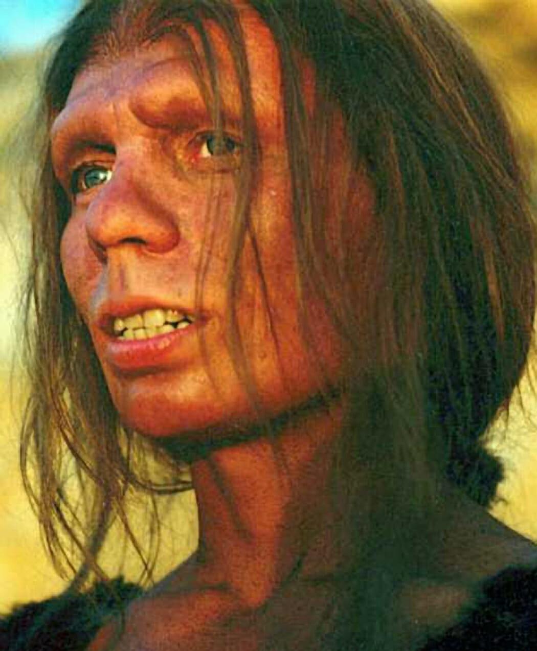 Cambiamento climatico e Neanderthal: donna