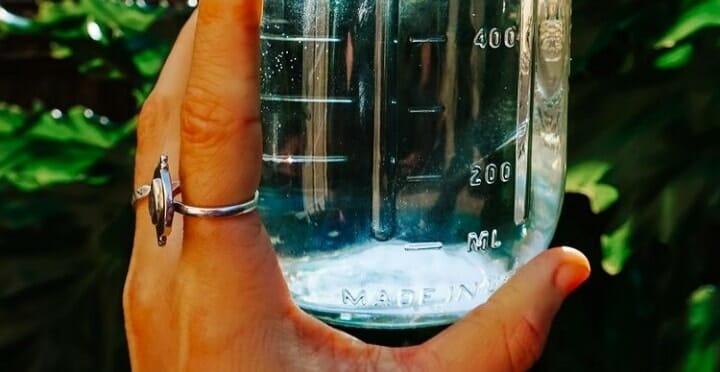 quotazione sull'acqua