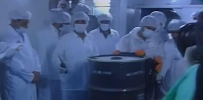Uranio arricchito al 20 per cento