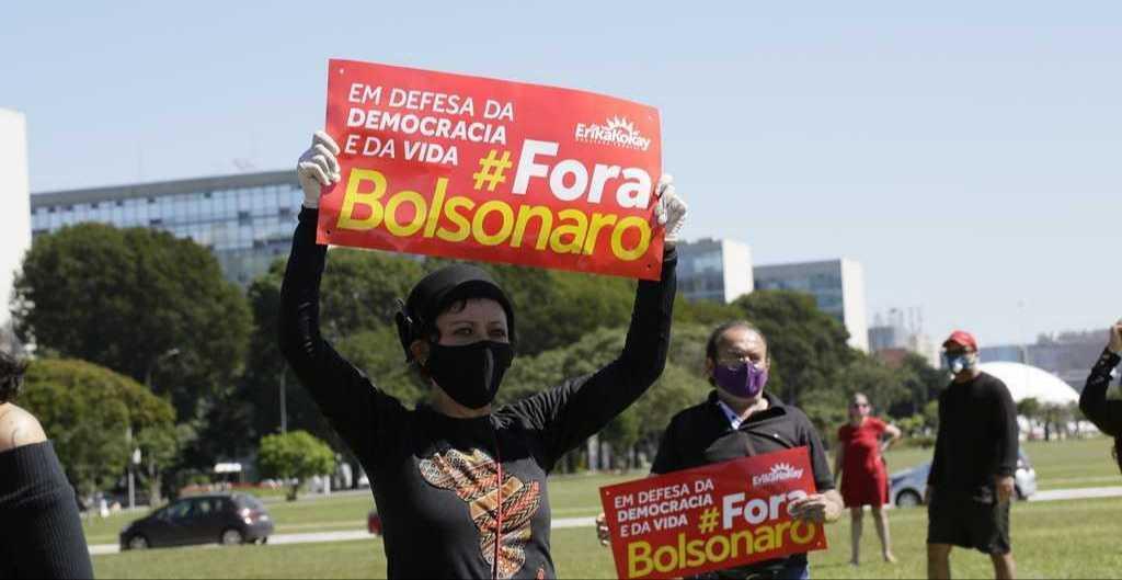L'intero Brasile manifesta per l'impeachment di Bolsonaro www.ultimavoce.it