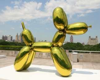 palloncino nell'arte