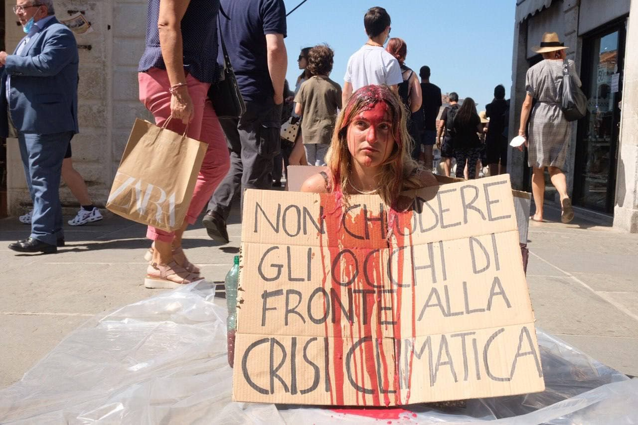 G20 Venezia - performance Rialto