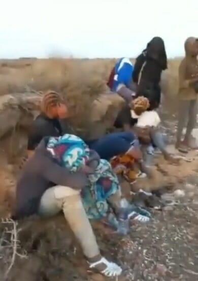 migranti tra Libia e Tunisia www.ultimavoce.it