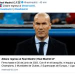 Zidane allenatore del Real Madrid