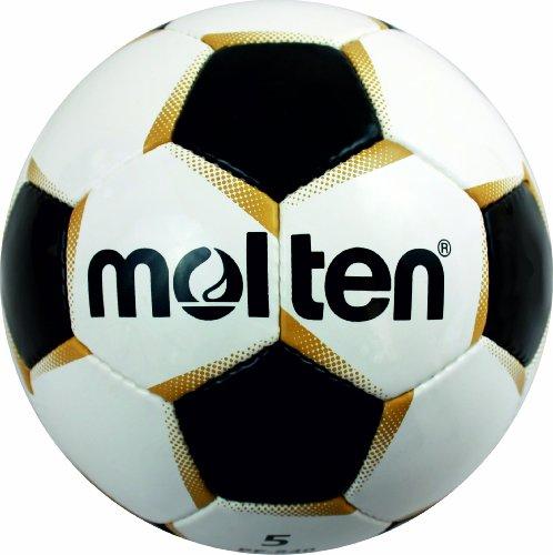 Molten PF540  Pallone da calcio taglia 5 colore BiancoOroNero