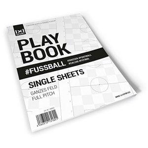 1x1SPORT  Playbook Calcio quaderno con fogli singoli A4 per schemi e tattiche per il calcio  Ampio spazio DinA4
