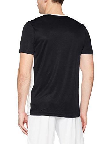 adidas Entrada18 Maglietta Uomo NeroBianco S