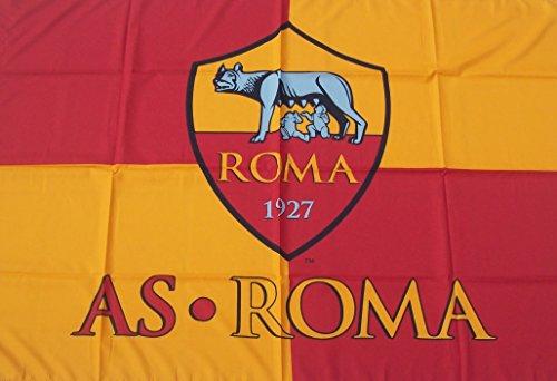 Bandiera Roma Ufficiale Magica LUPA Grande cm100x140 BGROGR01