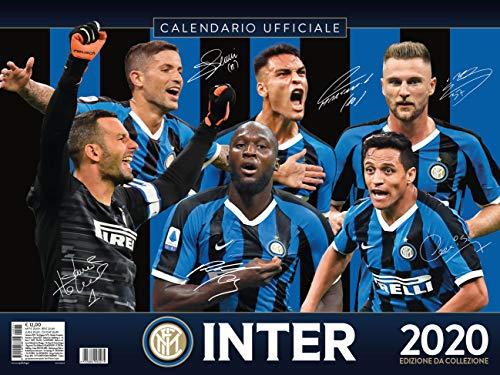calendario INTER 2020 prodotto ufficiale cm 44x33
