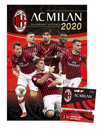calendario MILAN 2020 prodotto ufficiale cm 44x33
