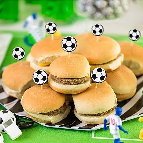 CHALA BUON COMPLEANNO BannerDecorativo Calcio Forniture per Feste Calcio Banner Tema Calcio per BambiniRagazziTifosi Festa di Compleanno