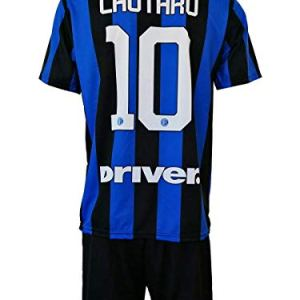 Completo LAUTARO Martinez Inter Ufficiale 201920 Bambino Uomo Adulto Maglia  Pantaloncini Pantaloncino Completino 10 Toro Home 8 Anni