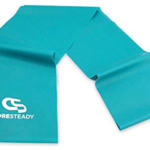 Coresteady Fasce di Resistenza Terapeutiche  Bande Fitness di Alta qualit per Pilates Yoga Allenamento di Forza Fisioterapia e Riabilitazione  Ideali per Uomini e Donne