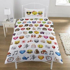 Emoji Emojis MultiSet copripiumino singolo