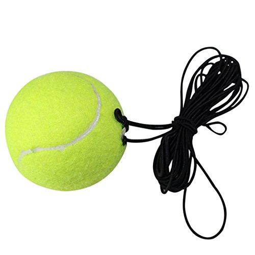 Fansport Allenatore di Tennis Strumento di Allenamento del Tennis Palla di Tennis di Esercizio di Auto Studio Dispositivo di Rimbalzo della Battiscopa della Sfera di Rimbalzo