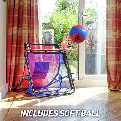 Football Flick Mini Soccer Skills Trainer Scarpe da Calcio UnisexAdulto Multicolore Taglia Unica