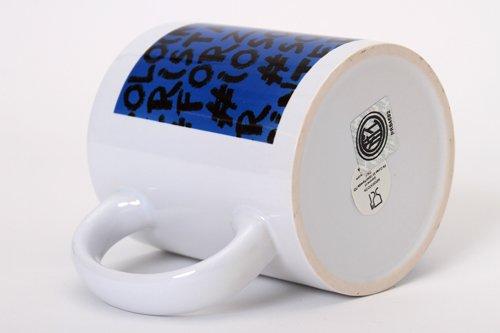 Giemme articoli promozionali  Tazza Mug Ceramica Hastag Inter Prodotto Ufficiale Idea Calcio Regalo 2Mod