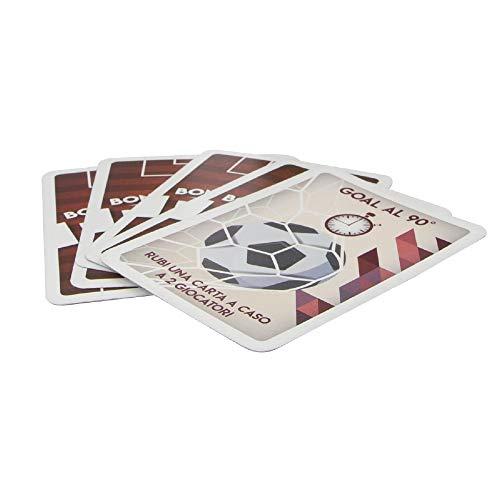 Giochi Preziosi Dieci Starter Pack per Rivivere una Vera Partita di Calcio 65 Carte