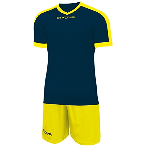 Givova KITC59 Kit Revolution Unisex  Adulto BluGiallo L
