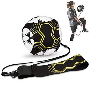 Hitasche Cintura Trainer da Calcio Football per Bambini e Adulti Attrezzatura per LAllenamento Individuale con Cintura Regolabile