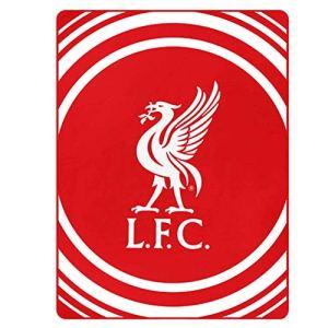 LFC  Coperta in Pile Ufficiale Liverpool FC per casa o Auto 100 Poliestere 125 x 150 cm