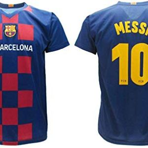 Maglia Messi 2020 Barcelona Ufficiale Home 2019 2020 in Blister Divisa Barcellona 10 Bambino Ragazzo Adulto 10 Anni