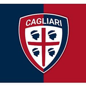 Marcello 55 Srl Bandiera Bicolore Cagliari Prodotto Ufficiale