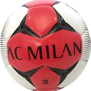 Mini Pallone Calcio Milan Di Cuoio Misura 2 Prodotto Ufficiale