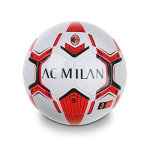 Mondo Toys  Pallone da Calcio cucito AC Milan  size 5  350 g  colore neroazzurro  13632