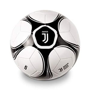 Mondo Toys  Pallone da Calcio cucito Juventus FC uomo  size 5  300 g  Colore BiancoNero  13720