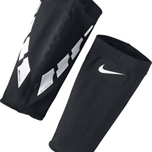 Nike Guard Lock Elite Football Sleeve Parastinchi Unisex  Adulto Black White M
