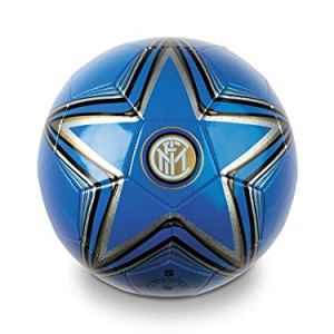 Pallone Inter Ufficiale Mondo in Cuoio Misura 5 Size FCInternazionale PALINCU13397