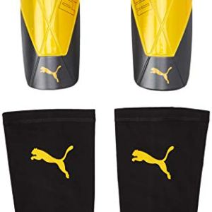 Puma ftblNXT Team Sleeve Parastinchi Calcio UnisexAdult Ultra Yellow Black XL