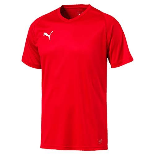 Puma Liga Jersey Core Maglia Calcio Uomo Rosso Red White L