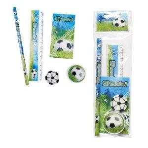 Set di 20pezzi Set di 5PCS Cancelleria Calcio di regaloregali e dettagli per compleanno comunione Calcio