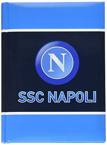 ssc napoli 5D9001908011 Set per la Scuola 21 cm Bianco Azzurro
