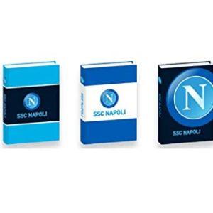 SSC Napoli Seven Diario Diario Standard 12 Mesi Copertina Imbottita Plastificata