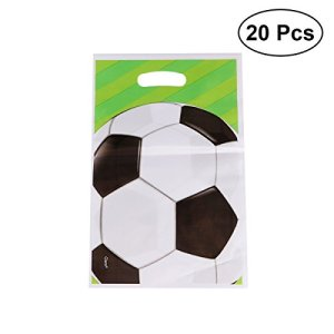 TOYMYTOY Pallone da calcio Party Favour Borse 20pcs Candy Gift Bag Rifornimenti del partito per il compleanno Kids Party
