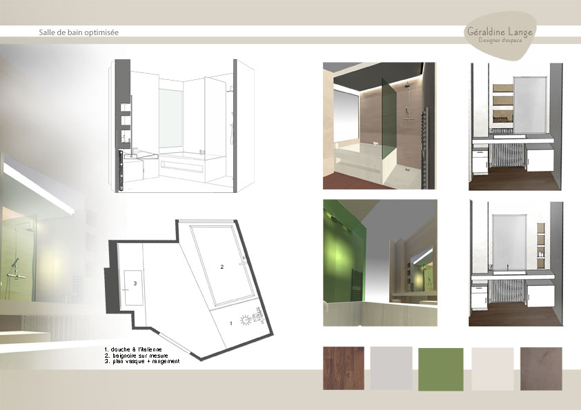 Design DSpace Portfolio Architecture Intrieure Les