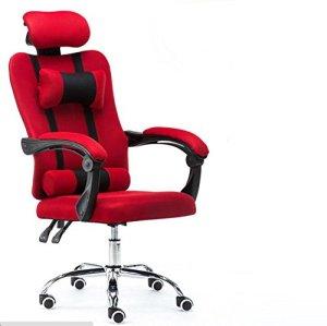 SZ5CGJMY® – Fauteuil de bureau pour gaming, inclinable et pivotant, avec haut dossier et repose-pieds