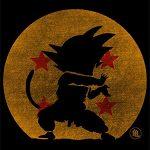 Camisetas La Colmena 2202-Parodie Bola Abuelo -Dragon Ball – Goku T-Shirt (Melonseta)