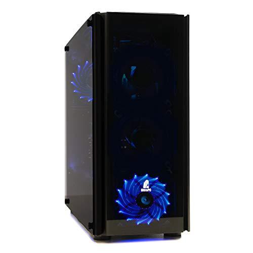 Nitropc–PC Gamer Z Mod (CPU Quad-Core i54x 3,80GHz, carte graphique NVIDIA GeForce GTX 10606Go, HDD 1To, RAM 16Go + Windows 10 64bits) i7, 32GB,SSD240,2TB,W10*,G1070