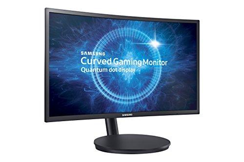 Samsung – C24FG70F – Ecran Incurvé Gaming – Dalle VA – 24 Pouces – (1920 x 1080, 1ms(MPRT), 16:9, 2 ports HDMI) – Bleu Foncé
