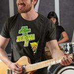 T-Shirt Jeux Vidéo – Parodie Zelda – Un Coup de gueule de héros… – T-shirt Homme Noir – Haute Qualité (634) – Medium